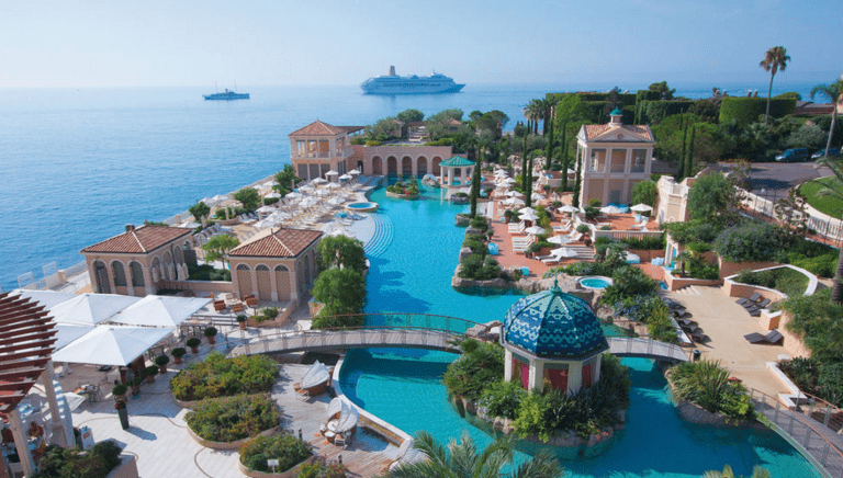 Beach of Monte - Carlo Bay Hotel
