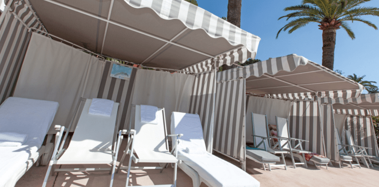 Monte- Carlo beach - private beach