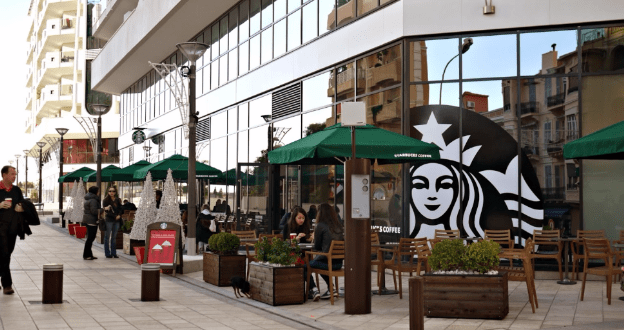 Starbucks in Monaco