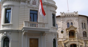 The building of the National council of Monaco