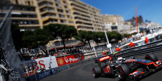 Formula 1 Grand Prix race in Monaco