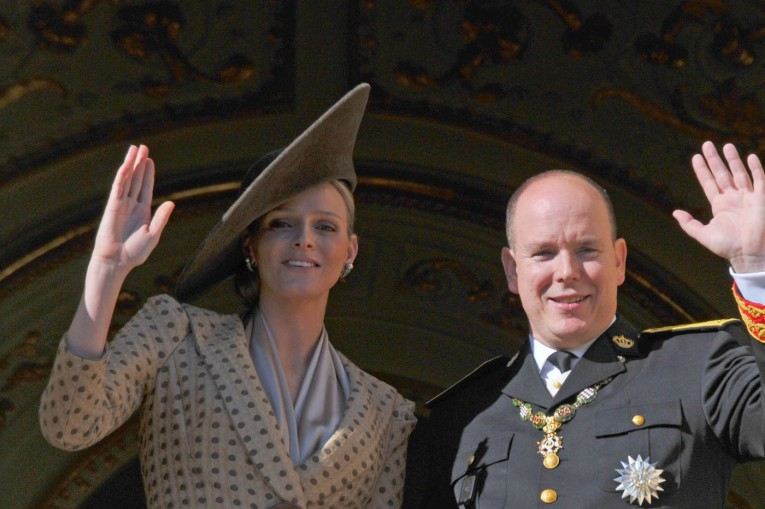 Prince Albert II and Princesse Charlene of Monaco