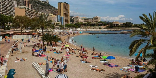 Larvotto beach - Monaco