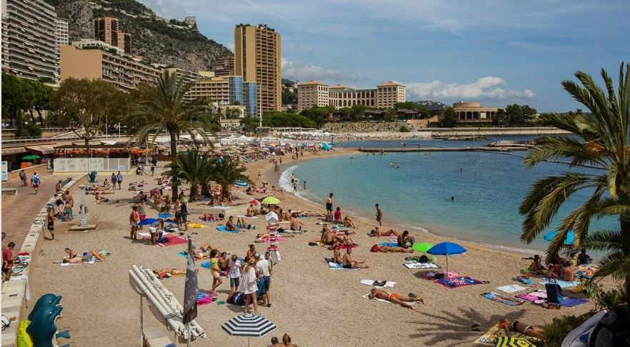 Larvotto beach Monaco