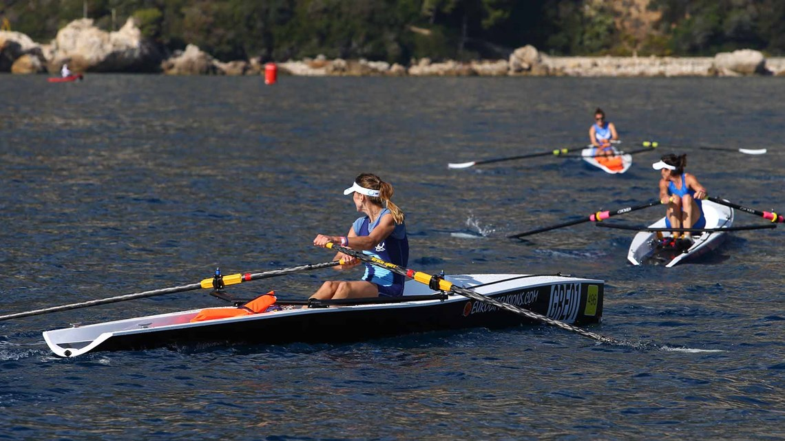 World rowing championships in Monaco