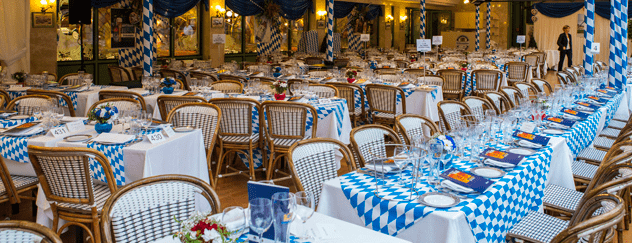 Octoberfest in cafe de Paris Monaco