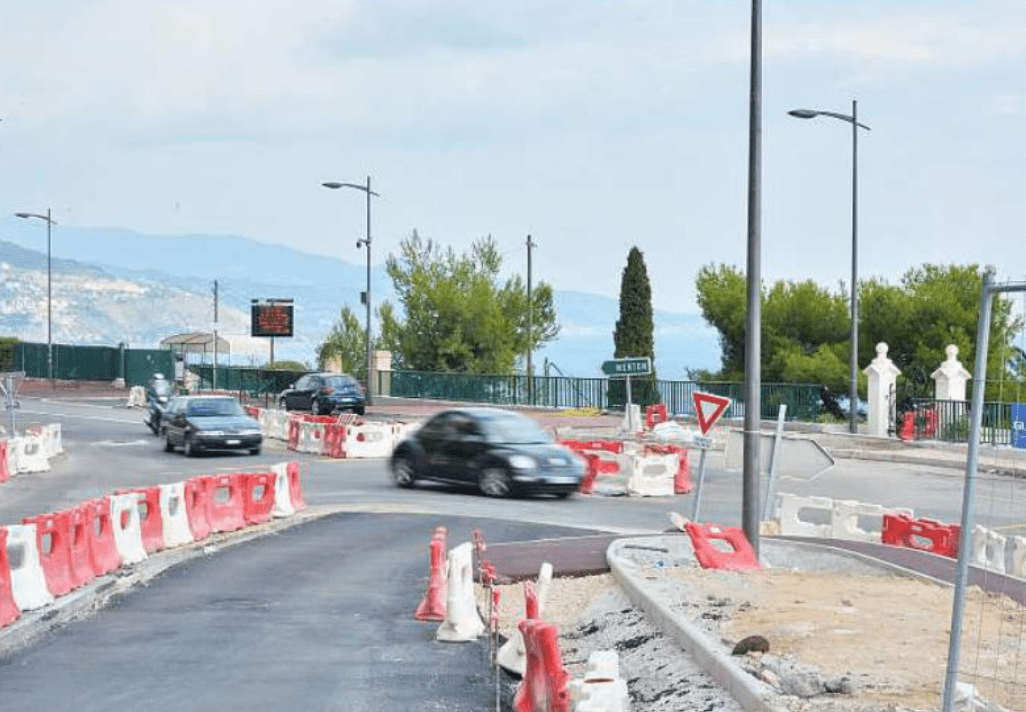 Photo of Roadworks in and around Monaco