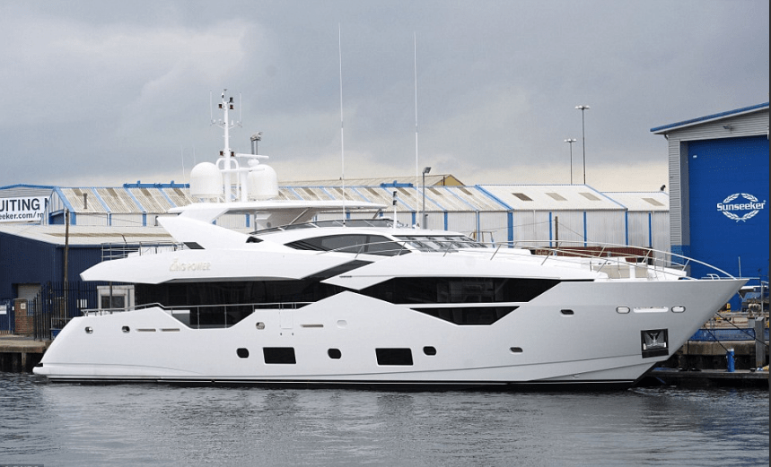 Sunseeker superyacht King Power