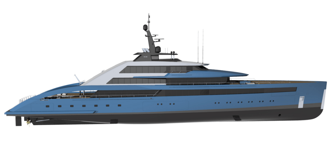 Sabdes Design reveals 85m superyacht concept