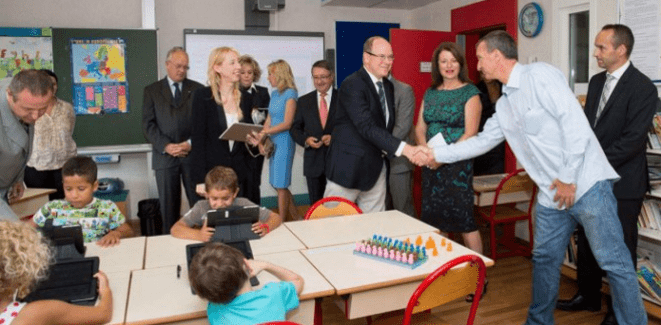 Photo of INTERACTIVE LEARNING INTRODUCED IN MONACO PRIMARY SCHOOLS