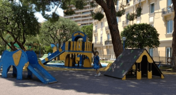 Children in Monaco - kindergarten