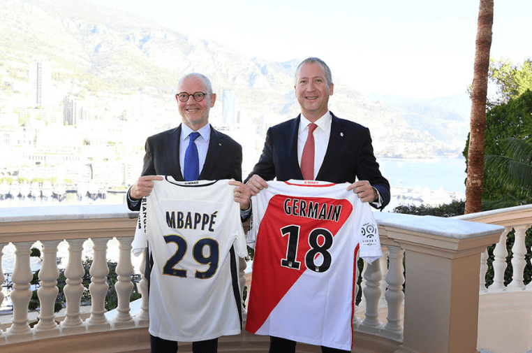 Photo of Partnership agreement between the Government of Monaco and AS Monaco 2016/2017