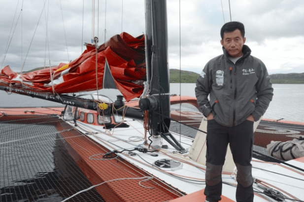 Photo of The Chinese navigator disappeared at sea