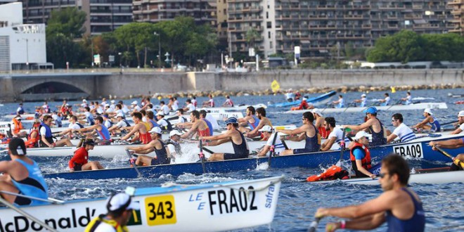 World rowing championship in Monaco