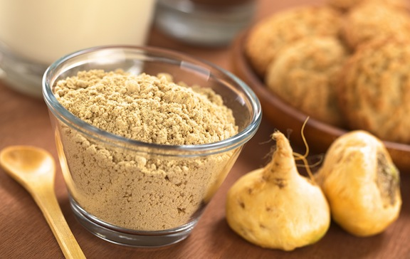 Maca powder and root