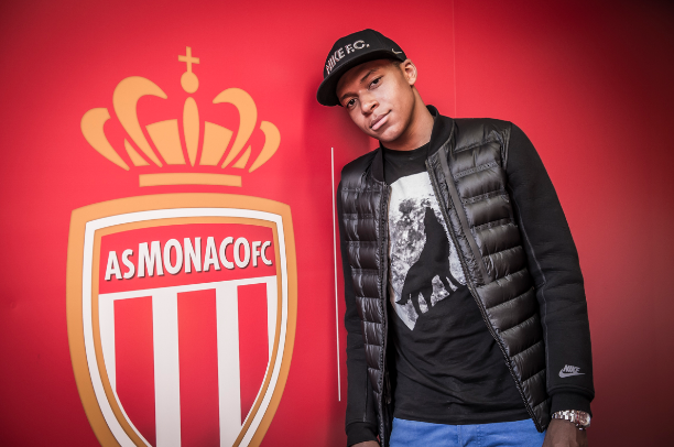 Kylian Mbappé AS Monaco football