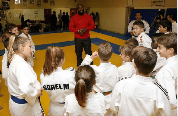 Training of the Monaco Judo Club
