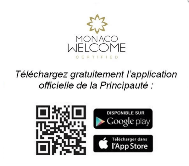 Monaco app for smartphones and tablets