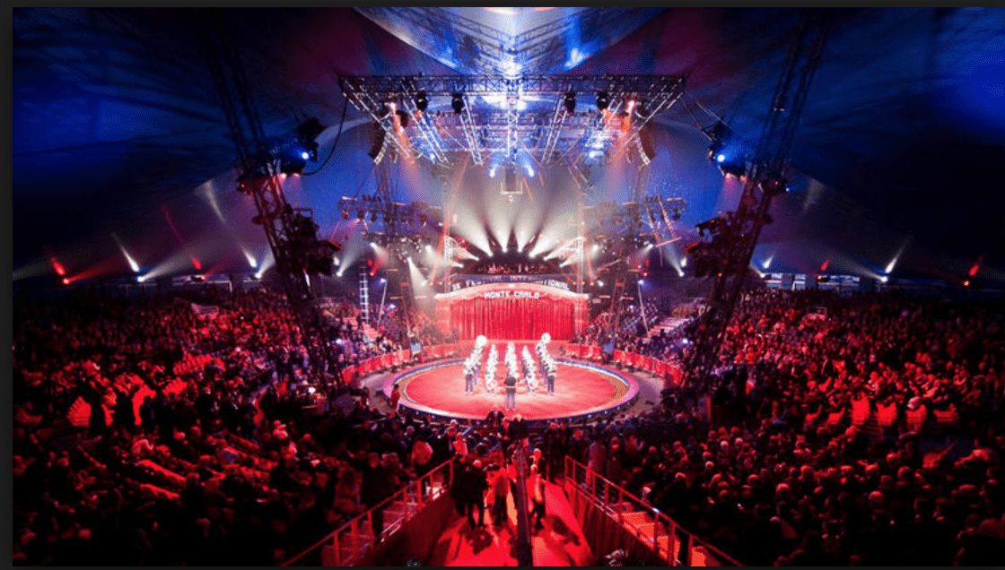 Photo of One Glorious Festival Evening in Monte Carlo: The Circus Spirit and Holy Spirit Unite