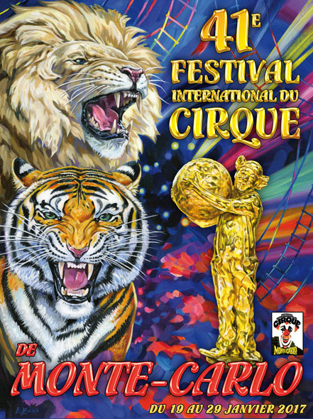 Photo of 41st International Circus Festival of Monte-Carlo. There's no circus without animals!