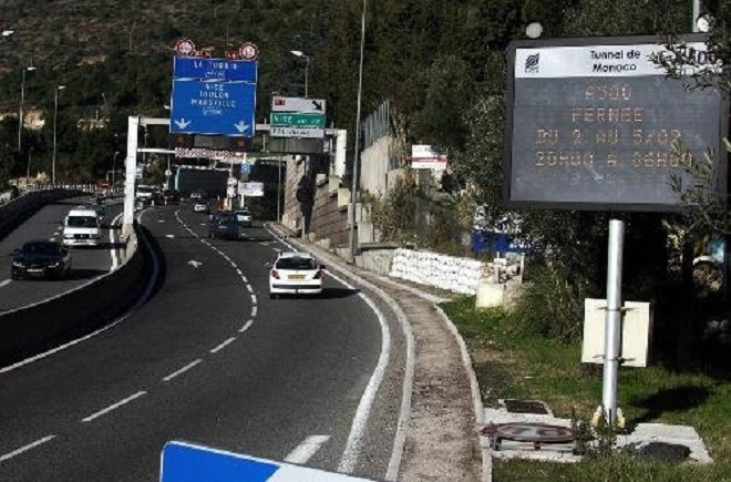 Photo of Tunnel of Monaco on A500 will be closed from November 7