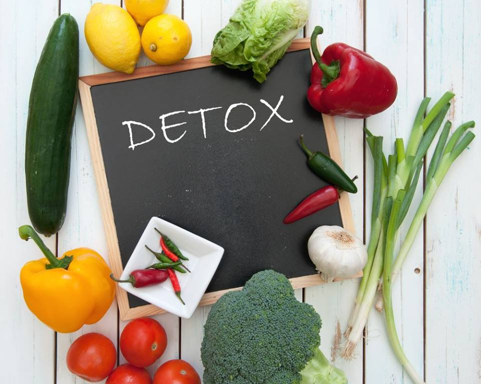 Let's have Lunch – Detox Time