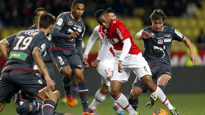 Football Match: AS MONACO vs. OLYMPIQUE LYONNAIS