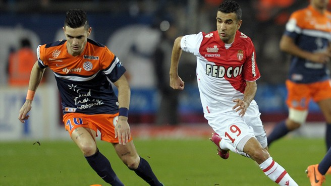 Football Match: AS MONACO vs. MONTPELLIER HÉRAULT
