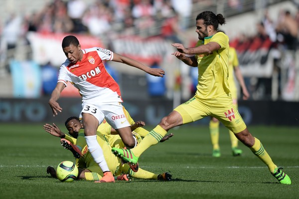 Football Match: AS MONACO vs.FC NANTES