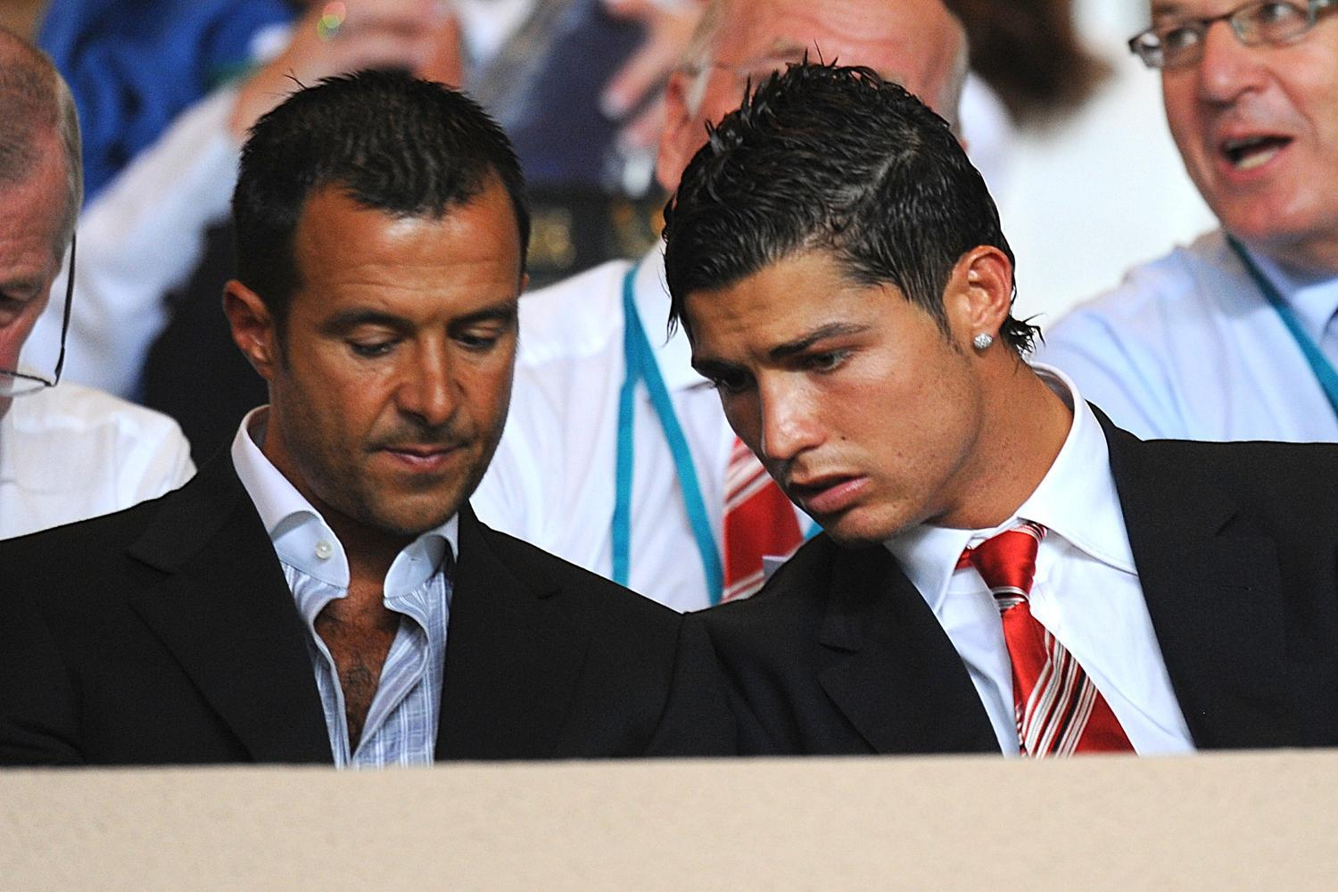 Jorge Mendes and Ronaldo