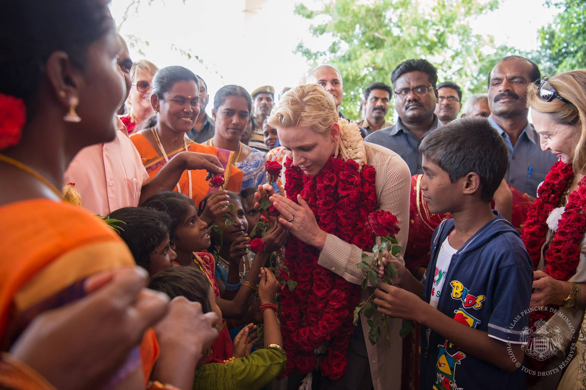 Photo of Princely digest: Princess Charlene's Trip to India, Nico Rosberg receives a gift from Prince Albert II and more…