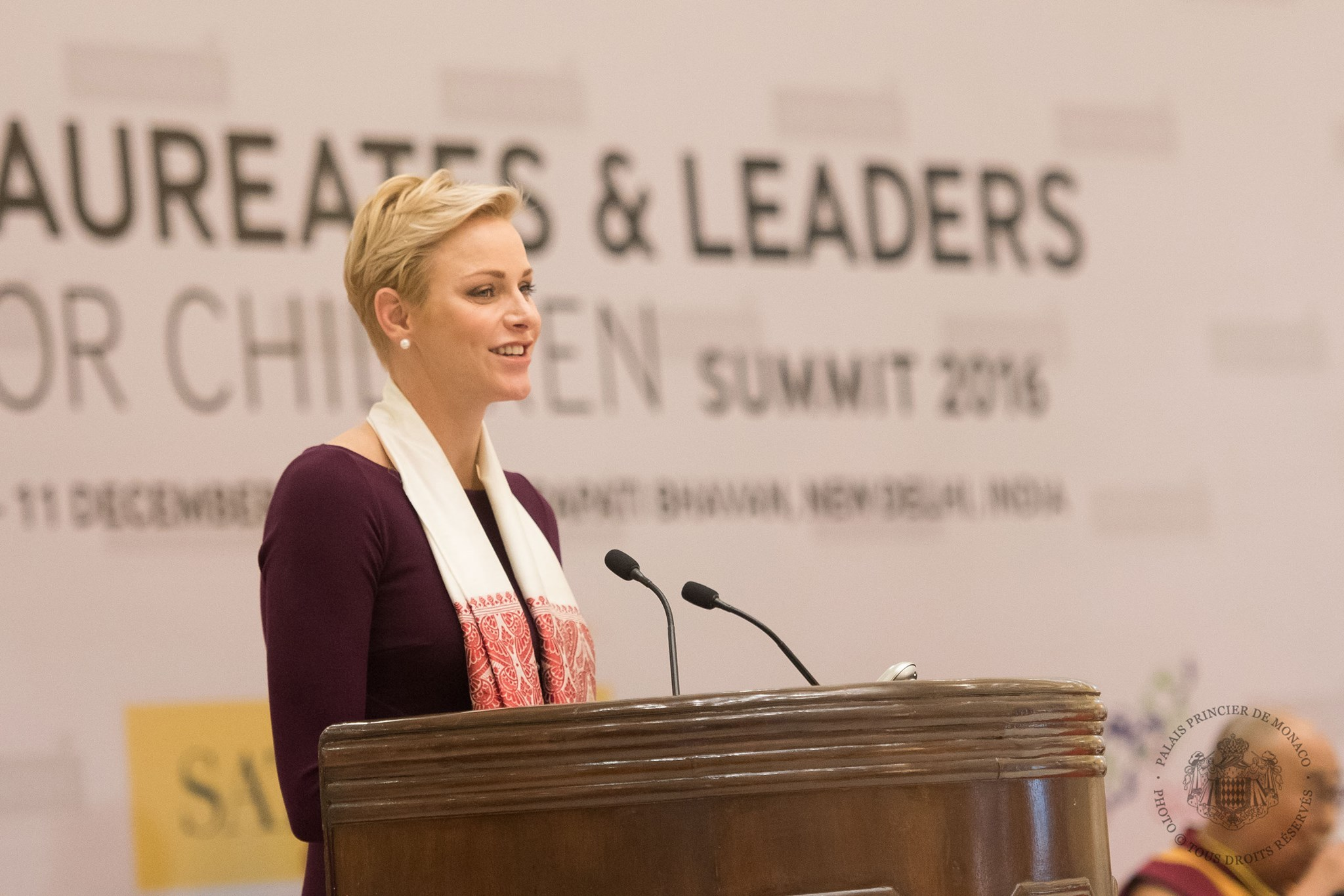 Princess Charlene's Trip to India
