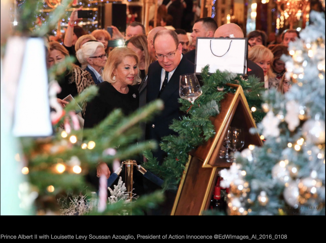 Photo of The Christmas tree auction in the Hotel de Paris raised 80 000 Euros