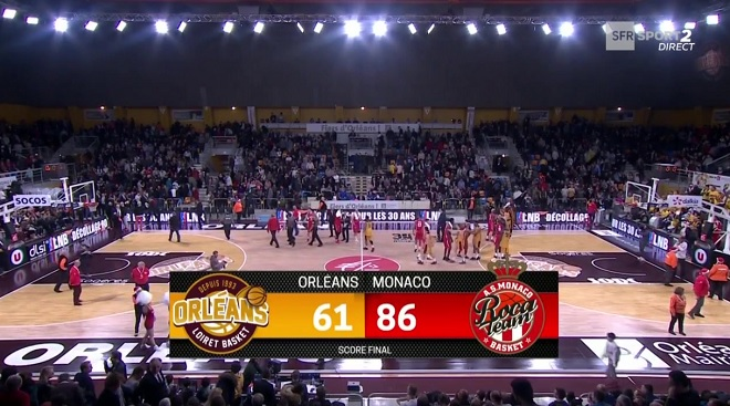 Roca Team wins against Orleans