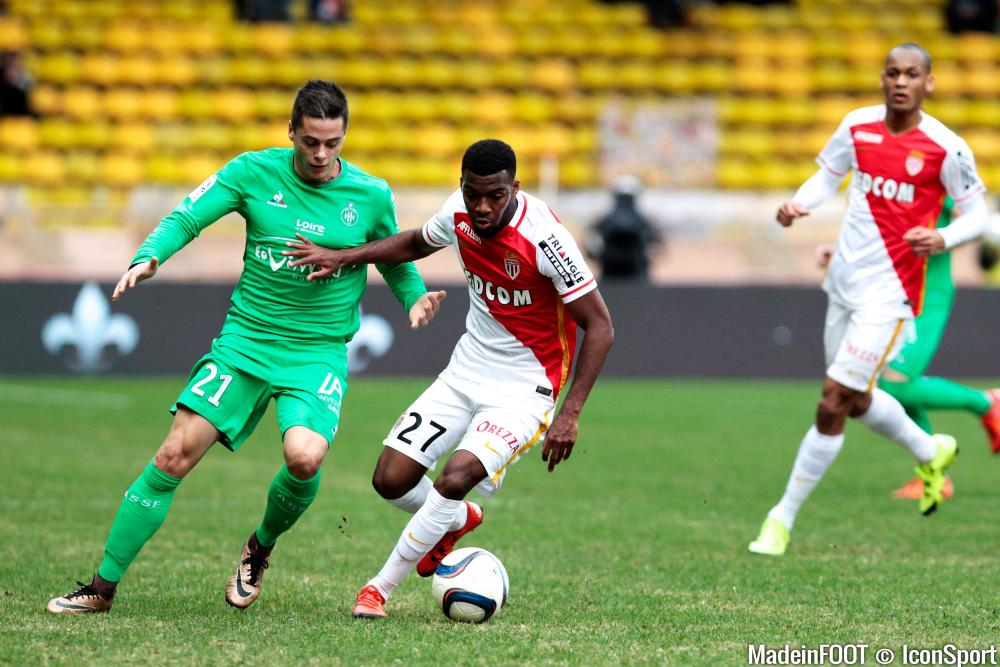 Football Match: AS MONACO vs. AS SAINT-ETIENNE