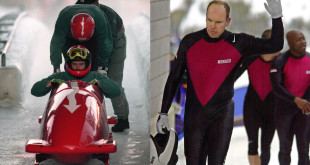 Prince during his Bobsledding days