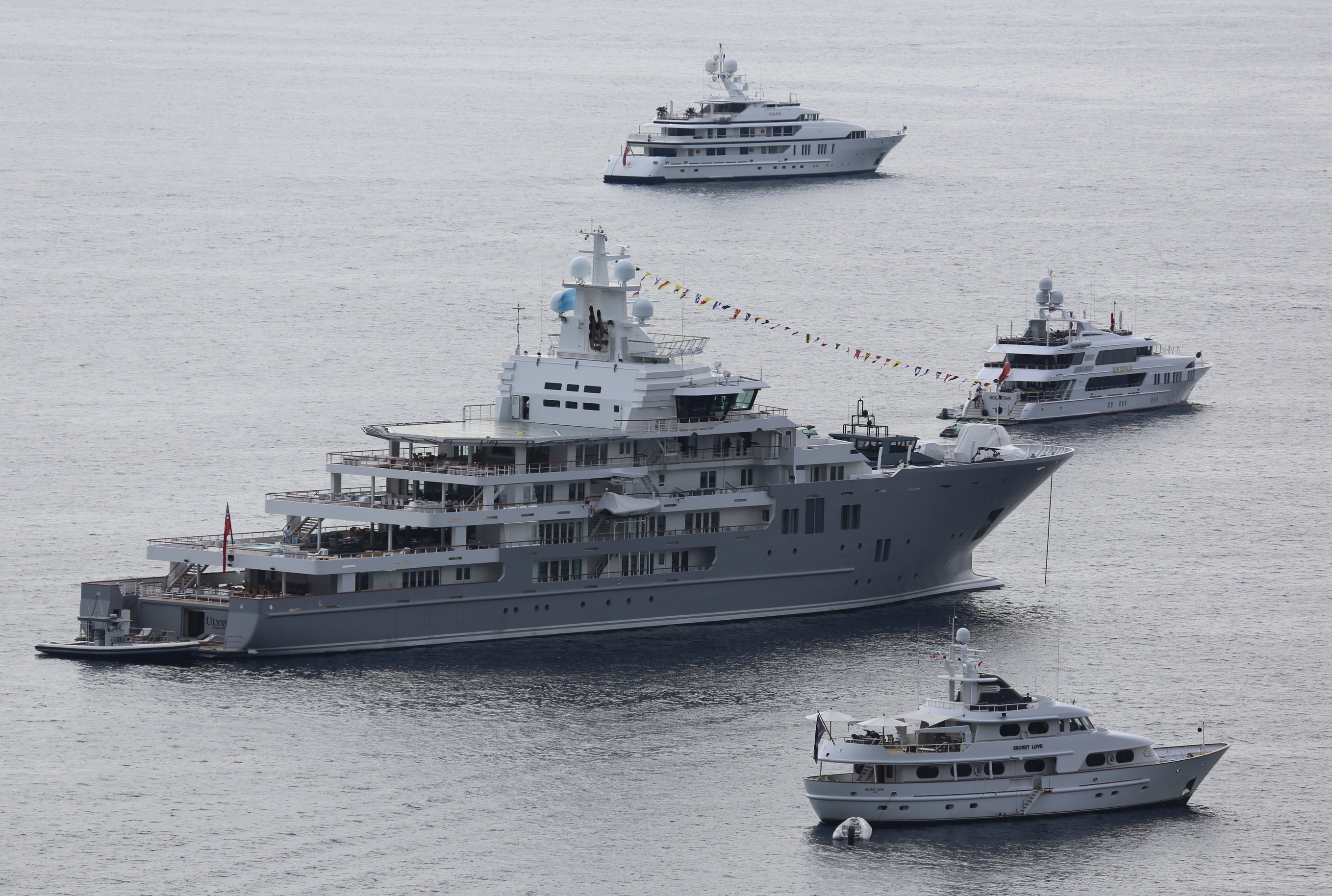 The 6 largest yachts delivered in 2016