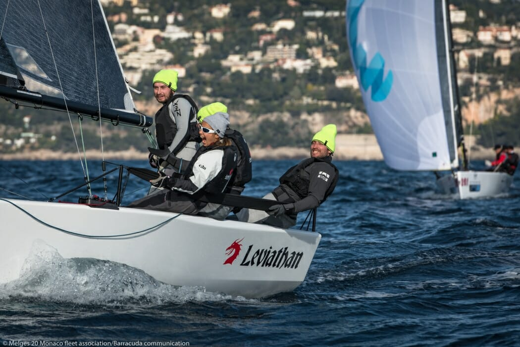 Photo of Monaco Optimist Team Race and  4th Monaco Sportsboat Winter Series results