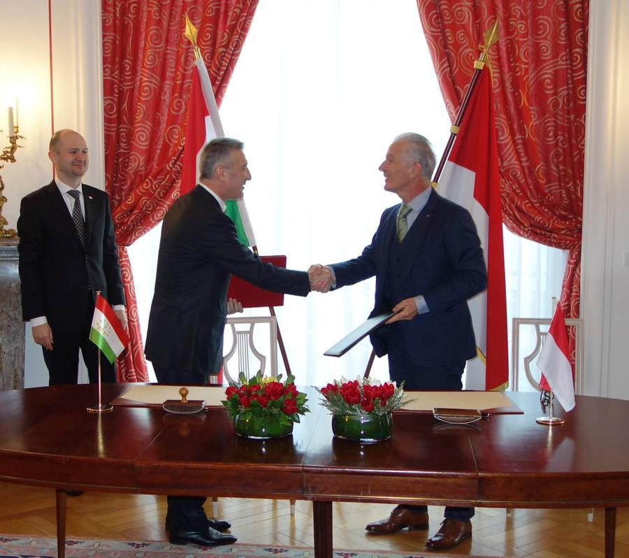 Photo of Establishment of Diplomatic Relations between the Principality of Monaco and the Republic of Tajikistan