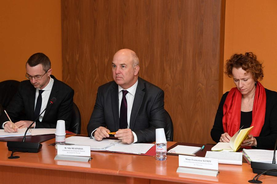 Photo of Council of Europe Commissioner for Human Rights visits Principality
