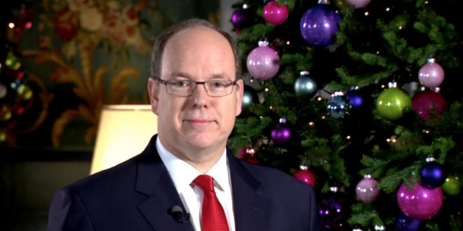 Prince Albert II of Monaco's New Year's Speech