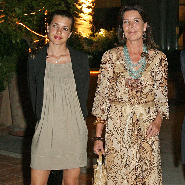 Princess Caroline and her daughter Charlotte