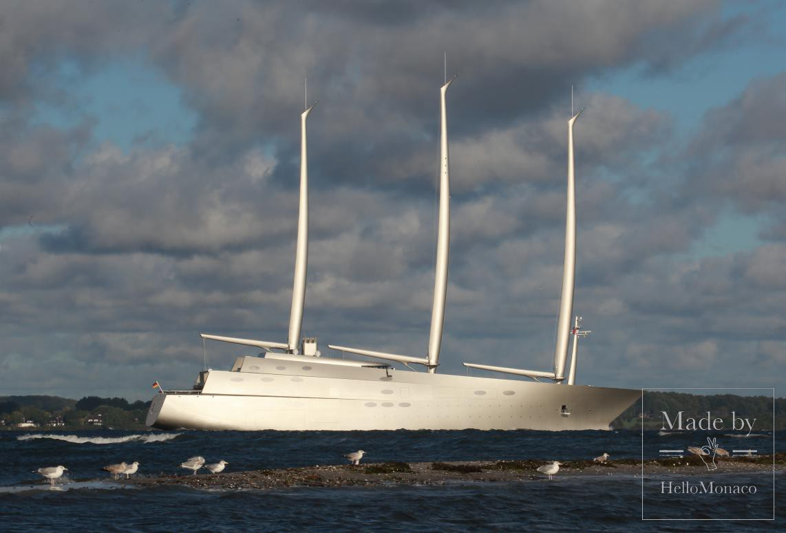 Photo of Sailing Yacht: Superyacht sets off from Germany to meet its Russian billionaire owner