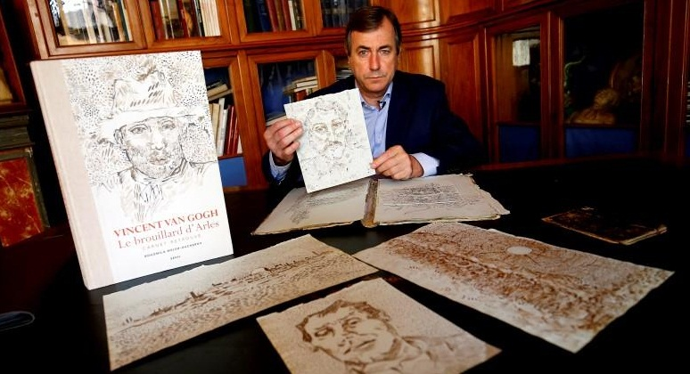 Photo of Van Gogh lost sketches caused scandal