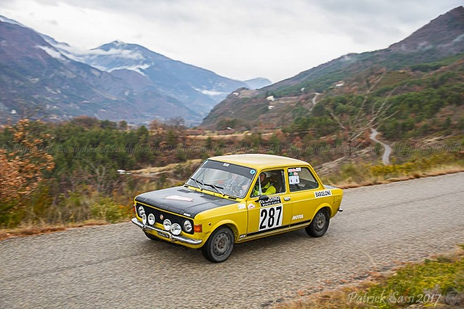 3rd place FIAT 128