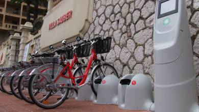 Photo of New electric bicycle stations in Monaco