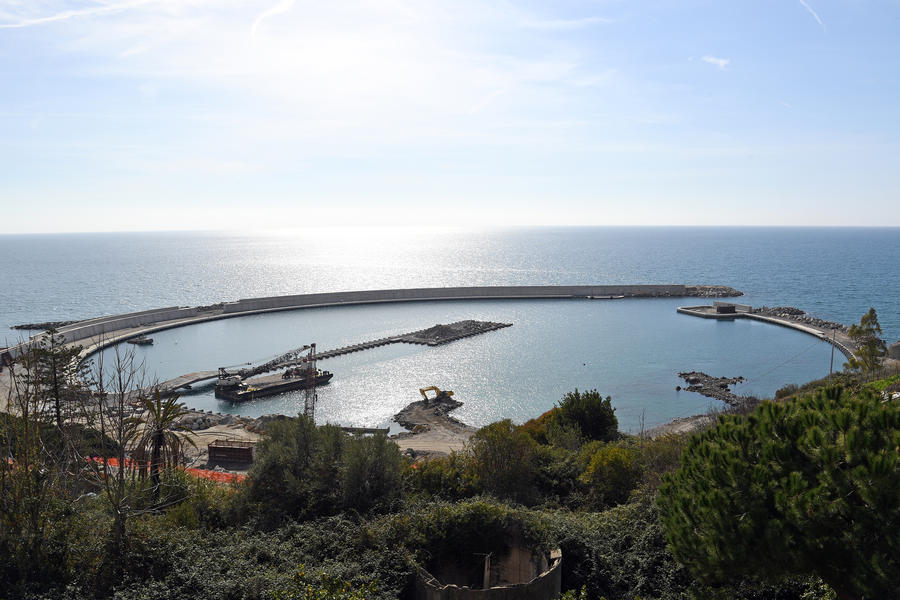 Photo of Work Resumes on the Port of Ventimiglia