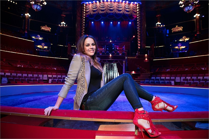 Photo of Pauline Ducruet and the 6th New Generation Circus Awards