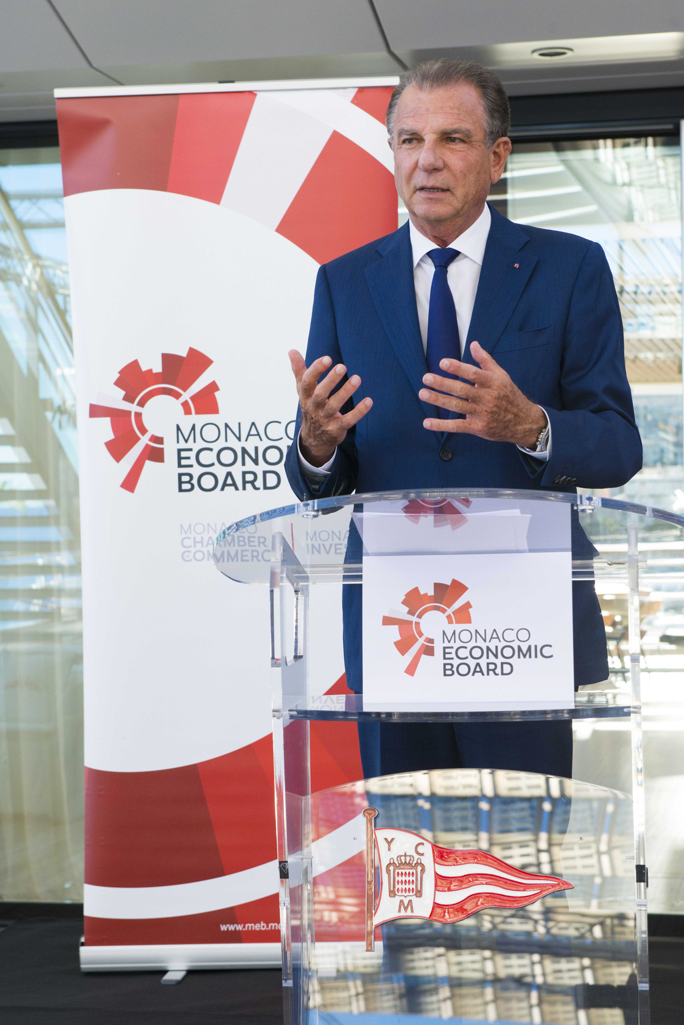 Michel Dotta, President of the MEB