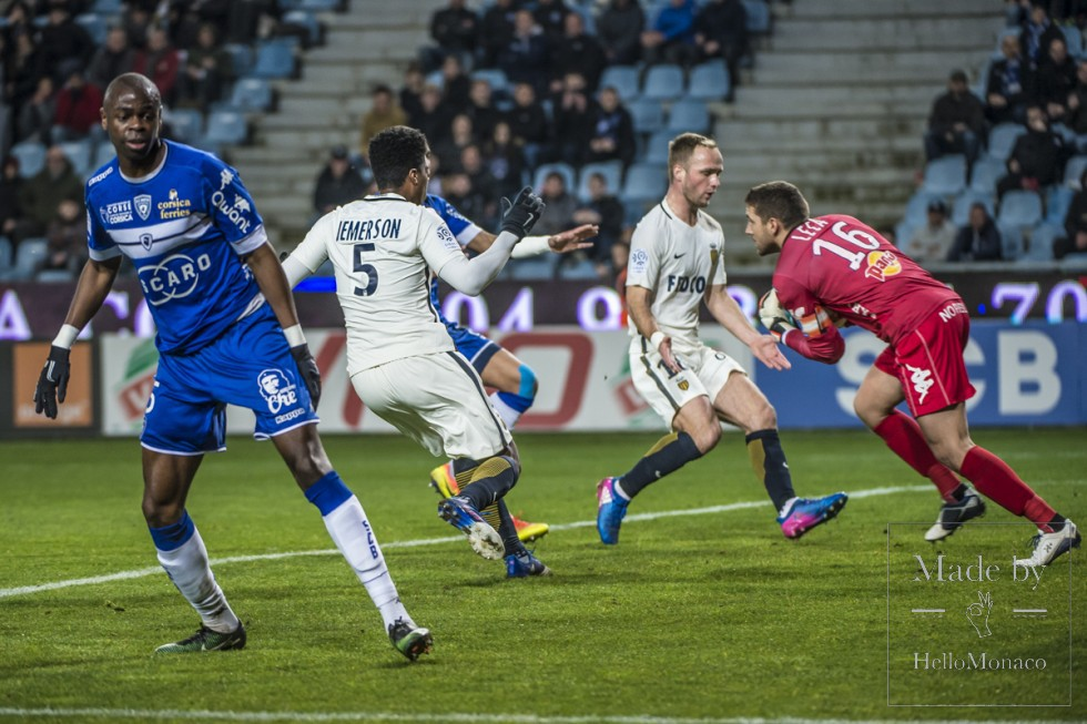 Photo of AS Monaco were held to a 1-1 draw at Bastia